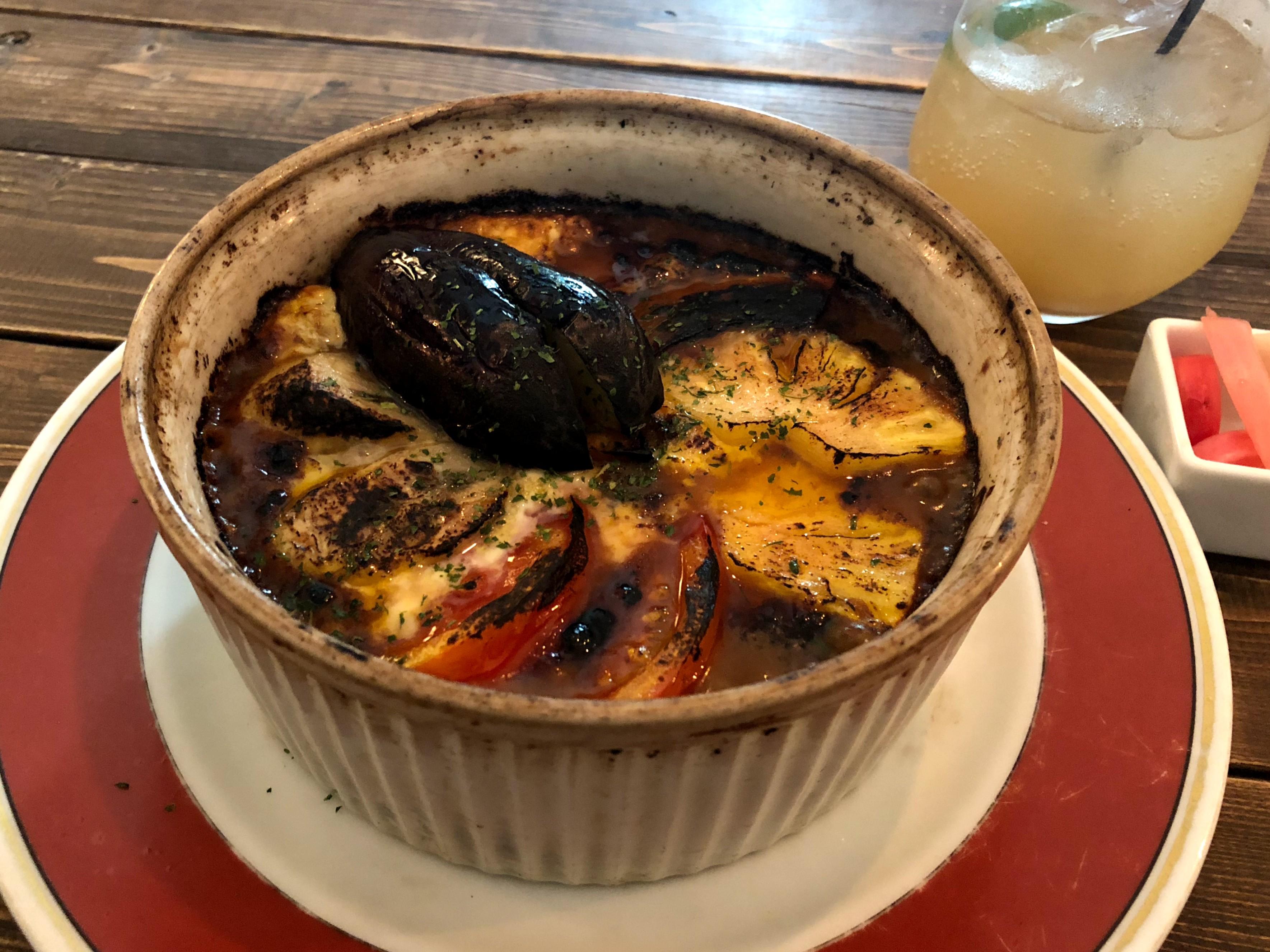 ウスバネの焼きカレー